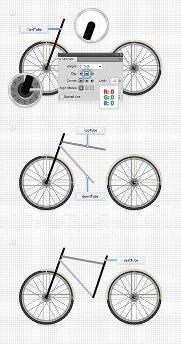 Create the Bike Frame