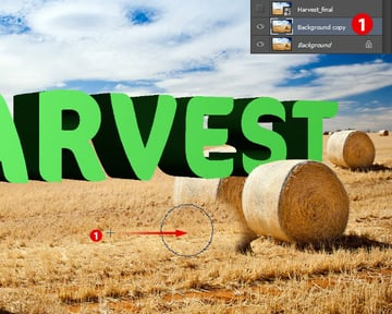 Adjust Placement of Hay Bales