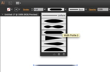 width profile