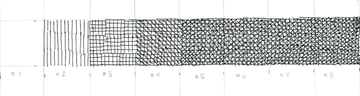 Crosshatching value scale 6