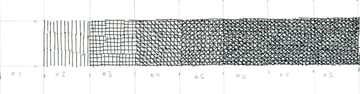 Crosshatching value scale 7