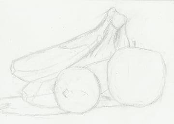 Sketch in still life
