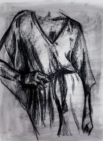 chamois your charcoal sketch