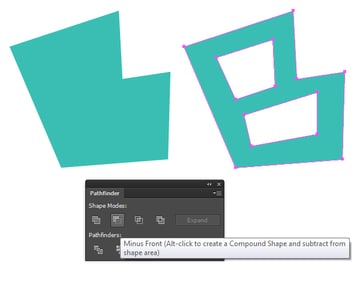 create the letter B with Pen tool