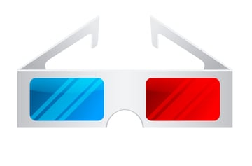 add reflections to the glasses