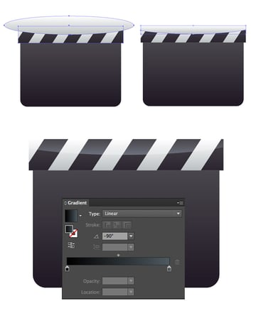 add highlight to the clapper