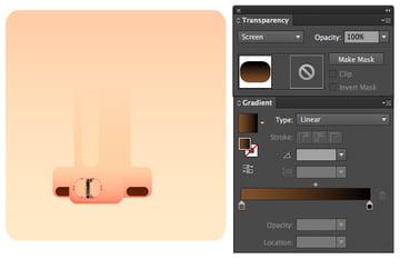 add highlights in screen blending mode