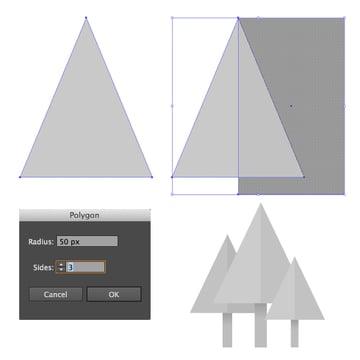 form the fir trees