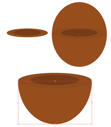 make a smoking pipe with ellipses