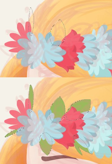 add foliage base