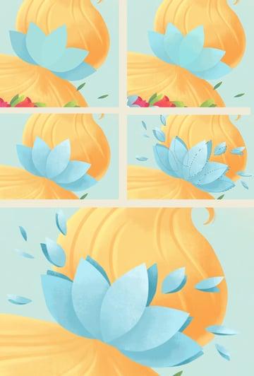 make a flower hair accessory 3