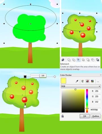 add shiny highlight to the tree