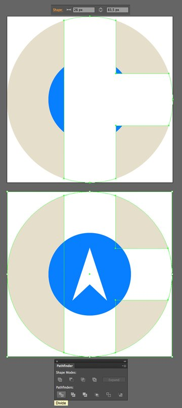add stripes to the icon base