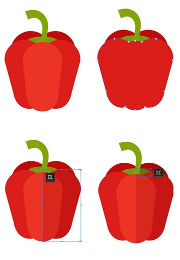 add more details and shadow to the pepper