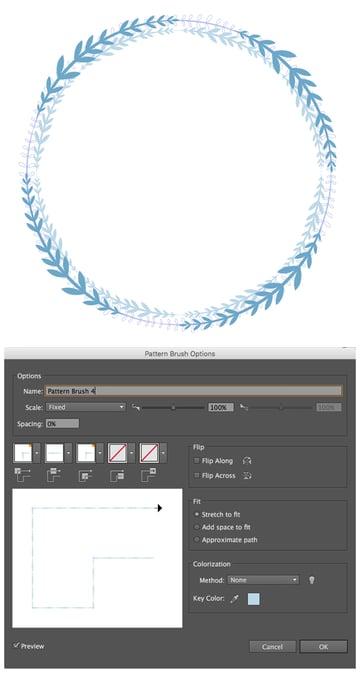 create a pattern brush 3