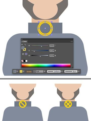 make the X-Men round emblem