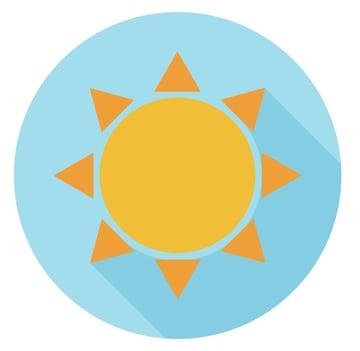 sun icon is ready