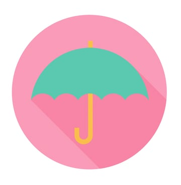 Finish up with the umbrella icon