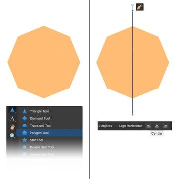 make an octagon