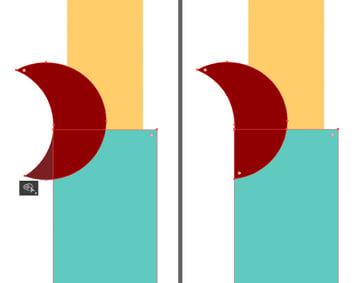 modify the crescent shape