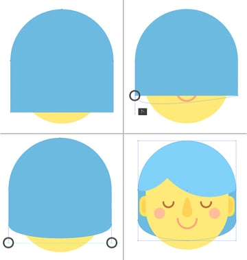 modify the bottom of the shape