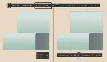 add a dark rectangle