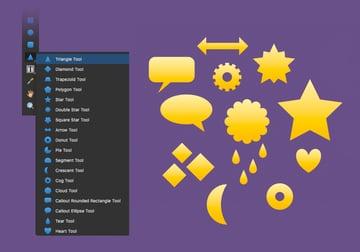 affinity designer triangle tool