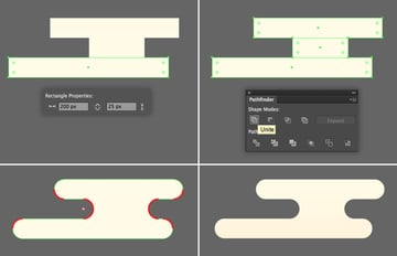 create a cloud from rectangles
