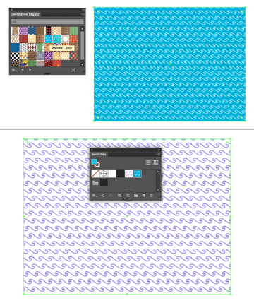 apply a pattern to the background 2