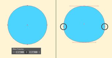 make a head from circle