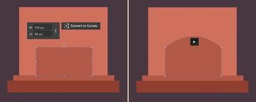 make a firebox from a rectangle