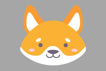 Our shiba dog is finished
