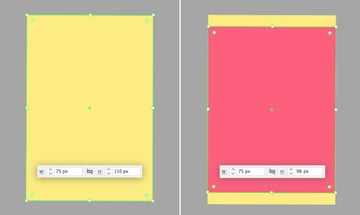 make a notebook from rectangles