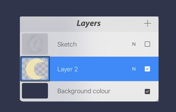 alpha lock the layer