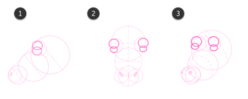 How to draw cow head 4