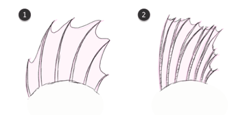 how to draw fish fins 3