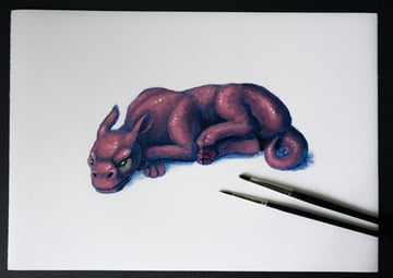 traditional art painting