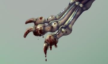 painting blood photoshop 2