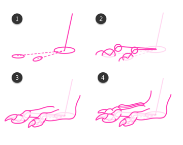 rodent feet how to draw 2