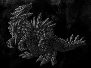concept art monster shading 2