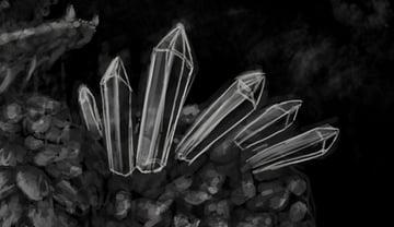 concept art monster painting crystal digital