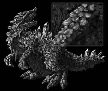 concept art monster light stronger