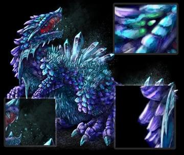 concept art monster muddy colors digital painting details