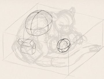 how to draw animals in perspective 3d depth 10