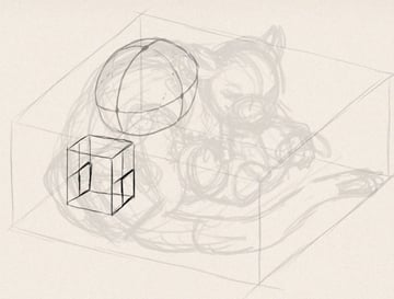 how to draw animals in perspective 3d depth 6