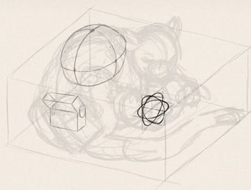 how to draw animals in perspective 3d depth 9