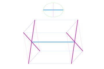 perspective how to draw ellipsoid torso capsule barrel 9