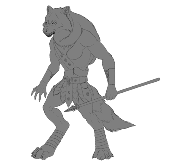 character design concept outline clipping mask 8