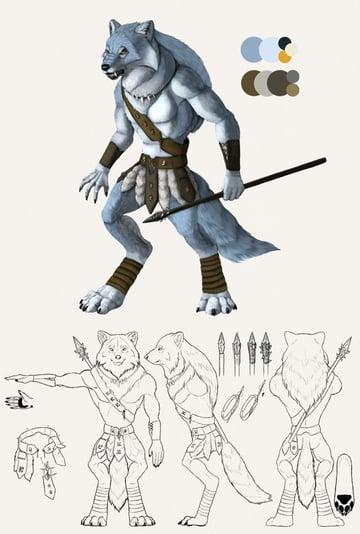 character design concept photoshop final
