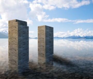 photoshop digital pain ice frozen lake water 25